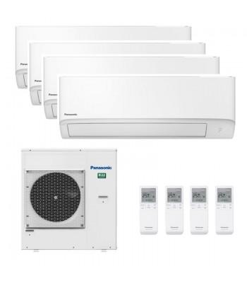 Multi Split Air Conditioner Panasonic 2 x CS-TZ25WKEW + 2 x CS-TZ35WKEW + CU-5Z90TBE