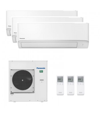 Multi Split Panasonic CS-TZ25WKEW + CS-TZ35WKEW + CS-TZ42WKEW + CU-5Z90TBE