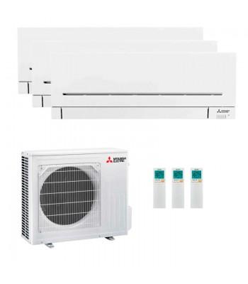 Multi Split Air Conditioner Mitsubishi Electric 3 x MSZ-AP25VG-K + MXZ-3F68VF