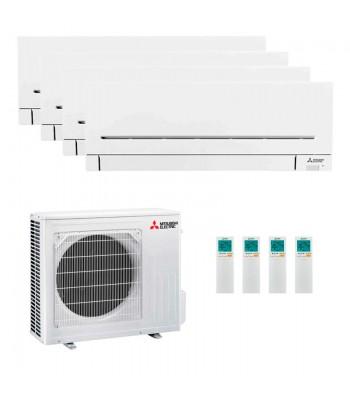 Multi Split Air Conditioner Mitsubishi Electric 2 x MSZ-AP25VG-K + 2 x MSZ-AP35VG-K + MXZ-5F102VF