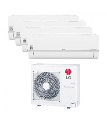 Multi Split Air Conditioner LG 2 x PC09SQ.NSJ + 2 x PC12SQ.NSJ + MU5R30.U40