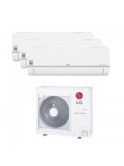 Multi Split LG 2 x PC09SQ.NSJ + PC18SQ.NSK + MU4R27.U40