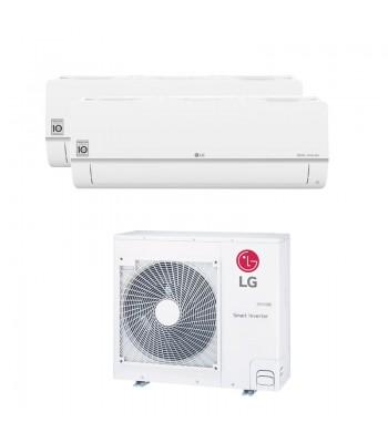 Multi Split Air Conditioner LG PC09SQ.NSJ + PC18SQ.NSK + MU4R25.U21