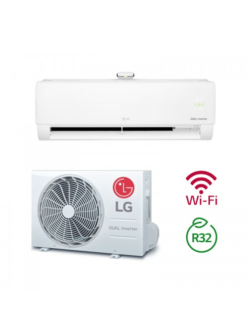 Wall Split AC Air Conditioner LG AP09RT.NSJ + AP09RT.UA3