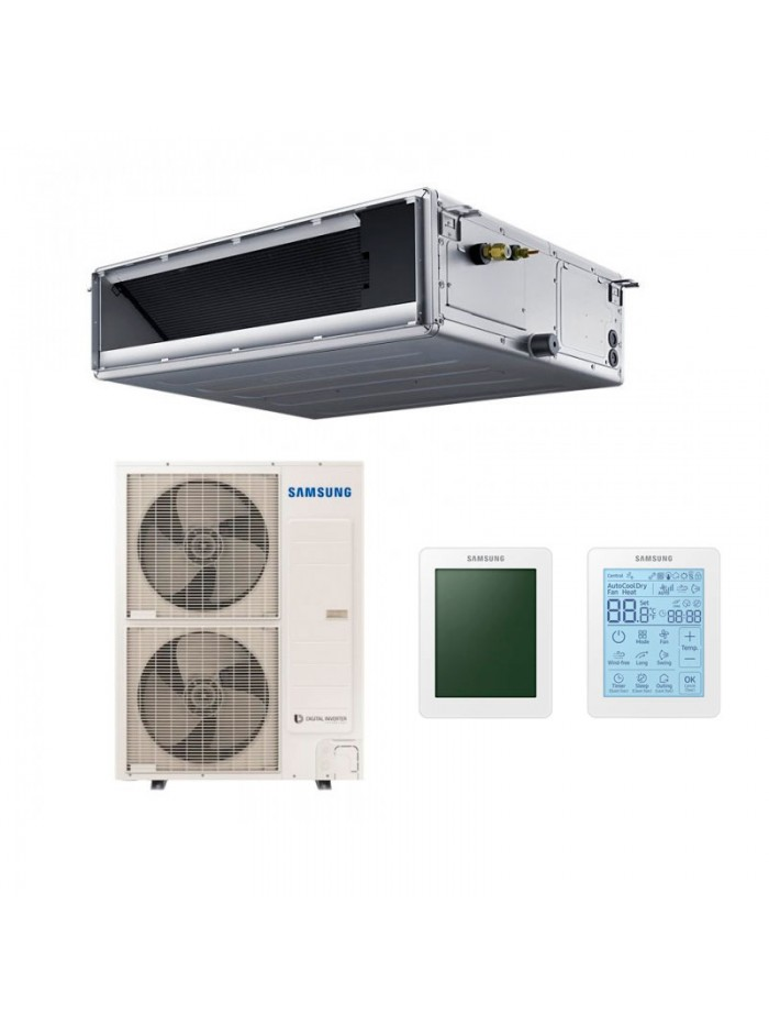 Ducted Air Conditioners Samsung AC140RNMDKG/EU + AC140RXADNG/EU