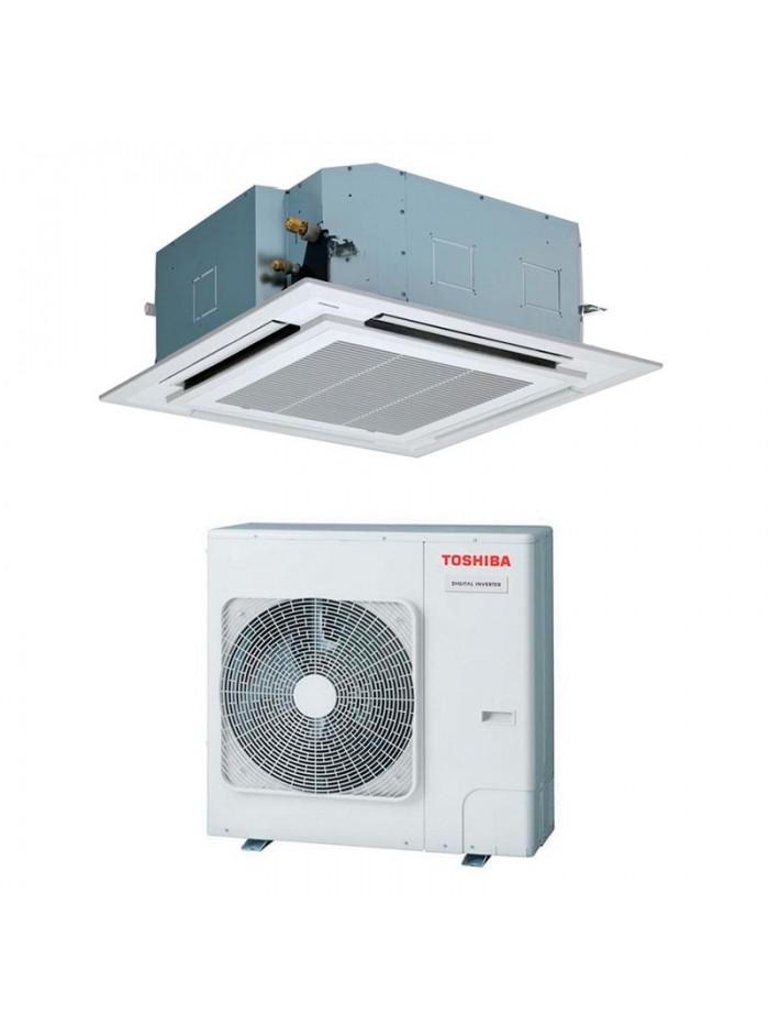 Cassette Air Conditioners Air Conditioner Toshiba RAV-RM1101UTP-E + RAV-GM1101AT8P-E