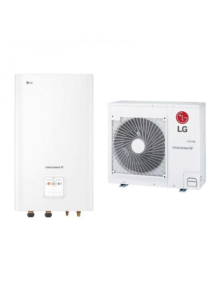 Heating and Cooling Bibloc LG Therma V Split HN091MR.NK5 + HU051MR.U44