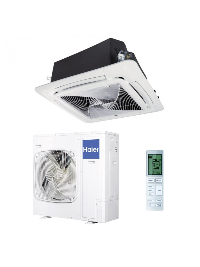 Cassette Air Conditioners Air Conditioner Haier ABH105H1ERG + 1U105S2SS1FA