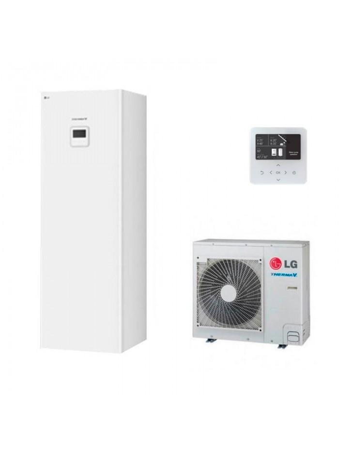 Heating and Cooling Bibloc LG Therma V Hidromodul R34 HN0916T.NB1 + HU091MR.U44