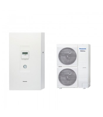 Heating and Cooling Bibloc Panasonic Aquarea T-CAP Generación H KIT-WXC12H6E5-CL