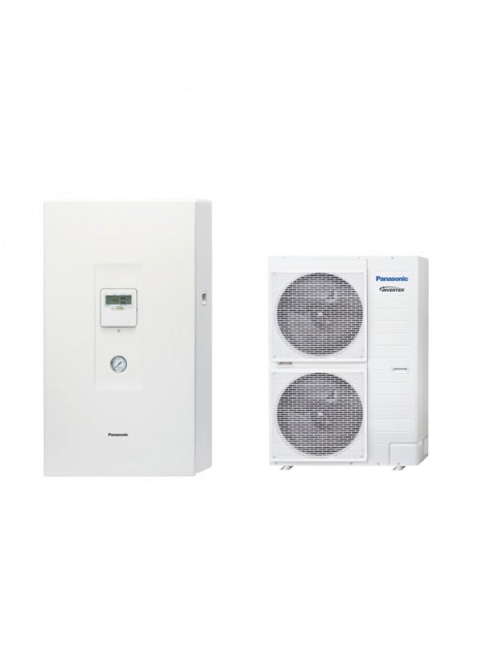 Heating and Cooling Bibloc Panasonic Aquarea T-CAP Bibloc KIT-WXC16H9E8-CL