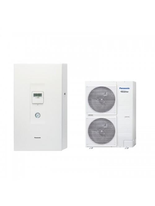 Air-to-Water Heat Pump Systems Heating and Cooling Bibloc Panasonic Aquarea T-CAP Bibloc KIT-WXC16H9E8-CL