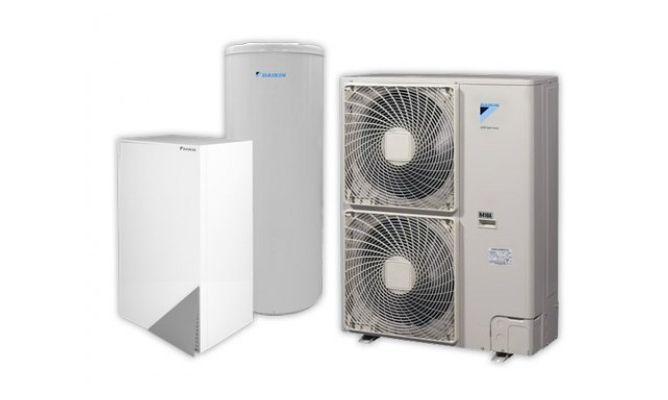 Daikin Altherma; Calefacción, Aire Acondicionado y Agua caliente Sanitaria