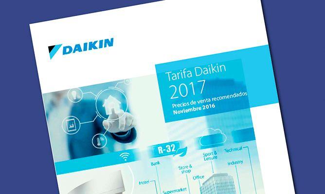 Nueva tarifa Daikin Aire Acondicionado 2017