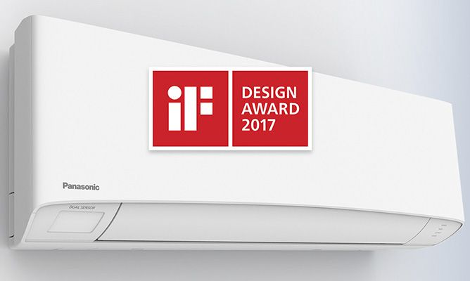 Panasonic Etherea consigue el prestigioso premio IF Design Award 2017.