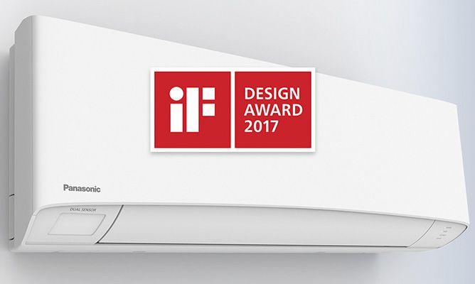 Panasonic Etherea consigue el prestigioso premio IF Design Award 2017.