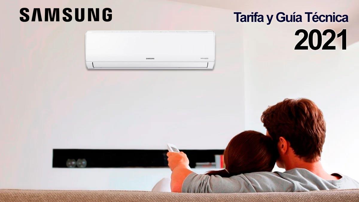 ¿Conoces la nueva Tarifa de Samsung Aire Acondicionado y Calefacción?