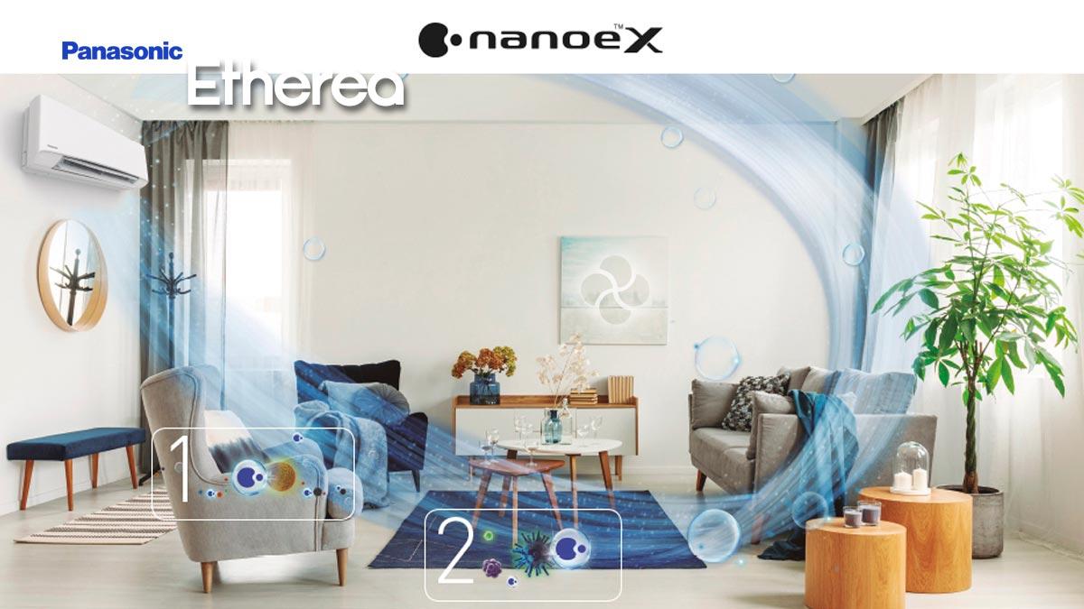Panasonic nueva gama de Aire Acondicionado Etherea. ¿Conoces todas sus ventajas?