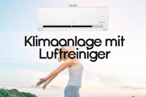 Klimaanlage mit Luftreiniger
