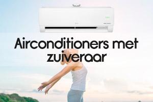 Airconditioners met zuiveraar