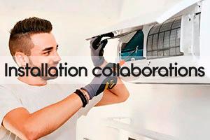 Installation collaborations